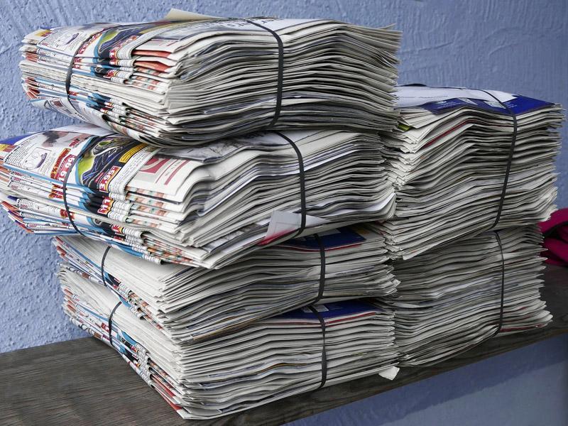 Reciclaje papel